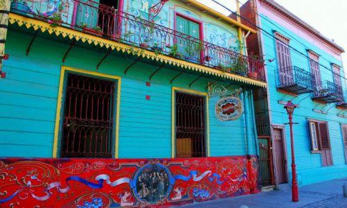 Zdjęcie ARGENTYNA / Buenos Aires / La Boca / kolor do potegi