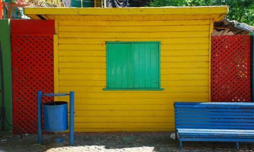 Zdjęcie ARGENTYNA / Buenos Aires / La Boca / kolorowy lad