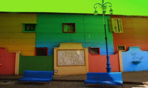 Zdjęcie ARGENTYNA / Buenos Aires / La Boca / b o Twoje sa ulice