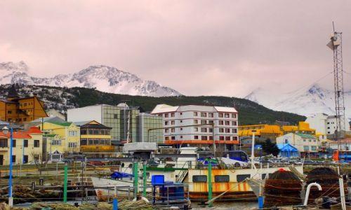 Zdjecie ARGENTYNA / Tierra del Fuego  / Ushuaia / kuterport