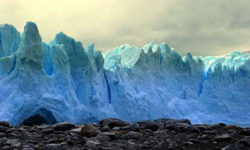 Zdjęcie ARGENTYNA / Patagonia  / Santa Cruz / jeszcze jedno z lodem