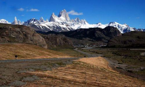 Zdjecie ARGENTYNA / Patagonia  / El Chanten  / widok na FitzRoy'a