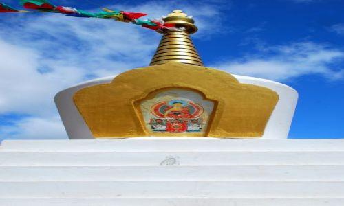 Zdjęcie ARGENTYNA / Chubut / Beriloche / Buddha w gorach