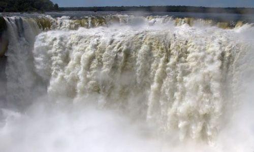 Zdjecie ARGENTYNA / - / Puerto Iguazu / wielki szum