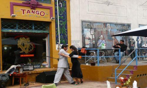 Zdjecie ARGENTYNA / - / Buenos Aires, Boca / Tango