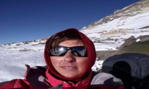 Zdjecie ARGENTYNA / - / Aconcagua / Na 6000 m n.p.m.