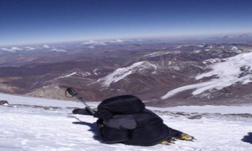 Zdjecie ARGENTYNA / - / Aconcagua / W drodze na szczyt