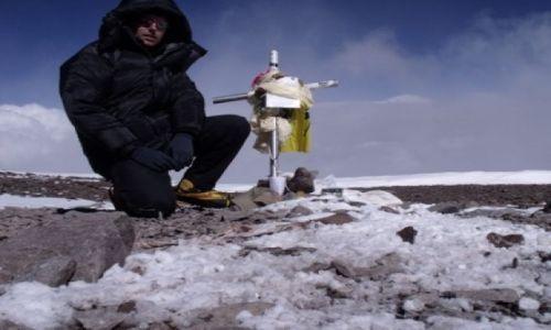 Zdjecie ARGENTYNA / - / Aconcagua / Na szczycie Ameryki Południowej