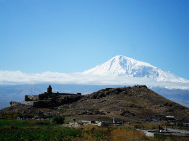 Zdjęcia: Khor Virap, Klasztor Khor Virap, ARMENIA