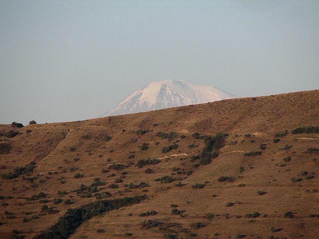 Zdjęcia: wyżyny Armenii, Ararat, widok z Armenii, ARMENIA