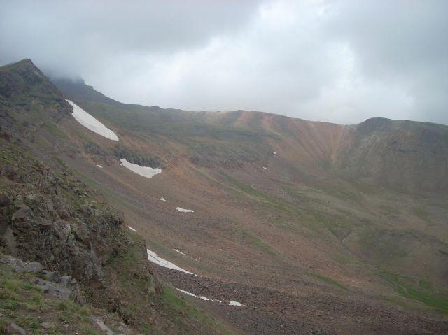 Zdjęcia: Wulkan Aragats (4090 m) najwyzsza gora Armenii, Na grani, ARMENIA