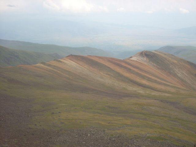 Zdjęcia: Wulkan Aragats (4090 m) najwyzsza gora Armenii, Górki powulkaniczne, ARMENIA