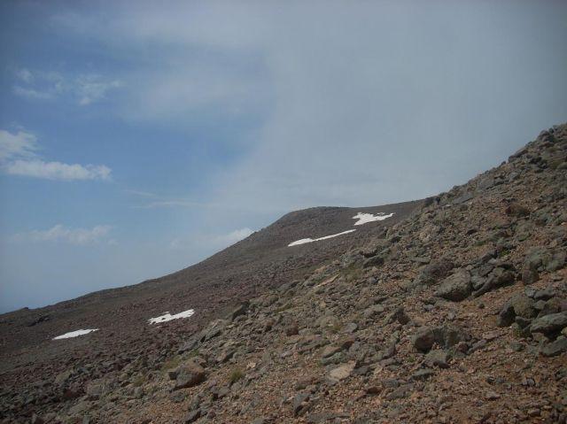 Zdjęcia: Wulkan Aragats (4090 m) najwyzsza gora Armenii, Gołoborza, ARMENIA