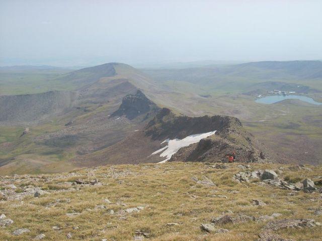 Zdjęcia: Wulkan Aragats (4090 m) najwyzsza gora Armenii, Droga na najnizszy wierzchołek, ARMENIA