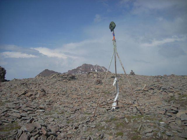 Zdj�cia: Wulkan Aragats (4090 m) najwyzsza gora Armenii, Na najnizszym wierzcholku 3860 m, ARMENIA