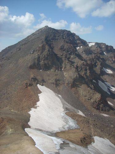 Zdjęcia: Wulkan Aragats (4090 m) najwyzsza gora Armenii, W drodze na zachodni wierzchołek, ARMENIA