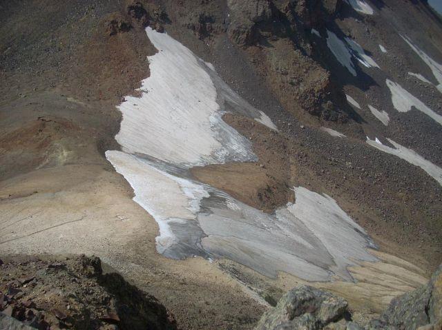 Zdjęcia: Wulkan Aragats (4090 m) najwyzsza gora Armenii, Troche sniegu :), ARMENIA