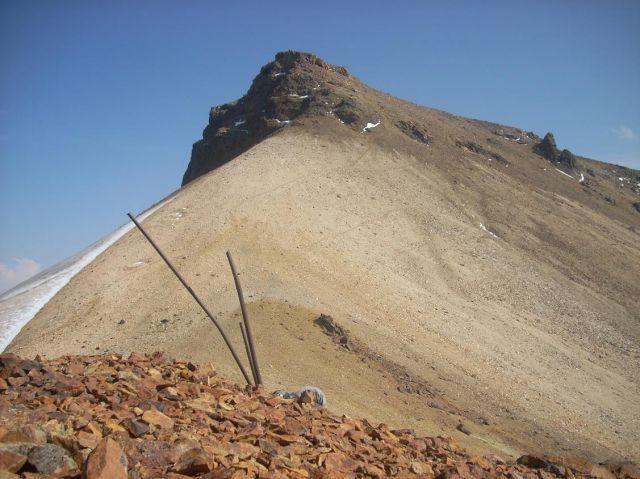 """Zdjęcia: Wulkan Aragats (4090 m) najwyzsza gora Armenii, Widok z """"bazy"""", ARMENIA"""