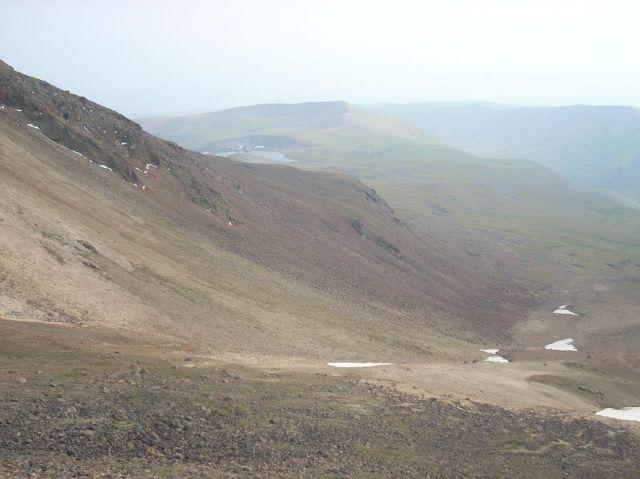 Zdjęcia: Wulkan Aragats (4090 m) najwyzsza gora Armenii, Widok z bazy 2, ARMENIA