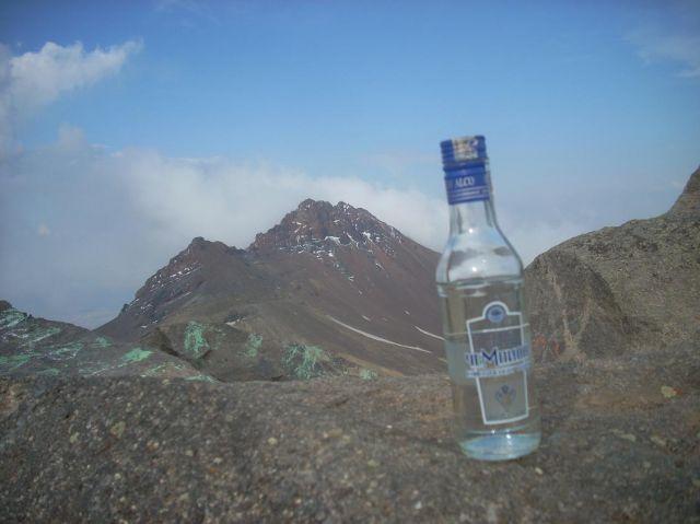 Zdj�cia: Wulkan Aragats (4090 m) najwyzsza gora Armenii, Rozgrzewka na 4000 m :), ARMENIA