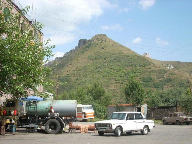 Zdj�cia: Pobli�e g�ry Aragats, Goris przy granicy z Karabachem, ARMENIA