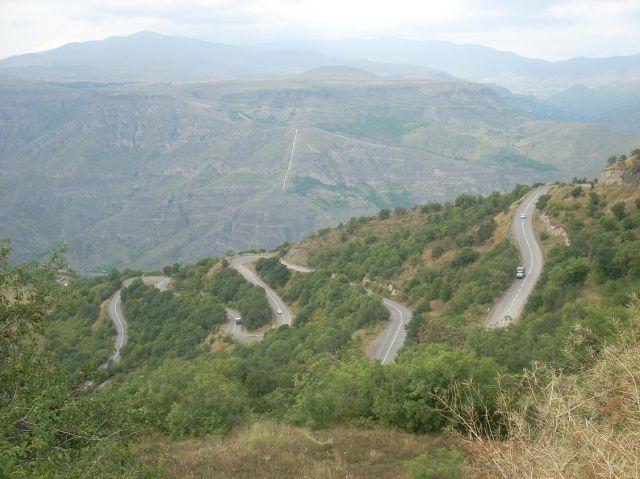 Zdjęcia: Goris, dróżka do Iranu:), ARMENIA