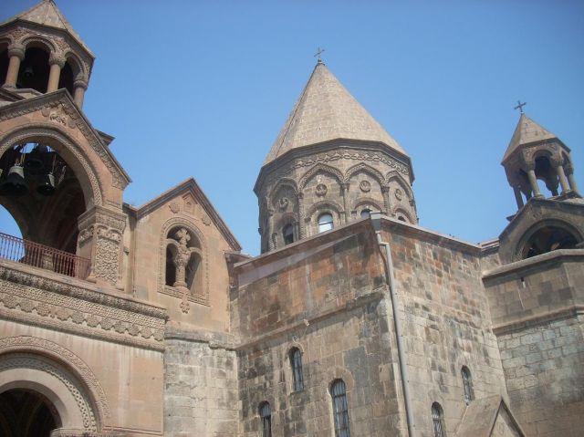 Zdjęcia: Eczmiadzyn tzw. ormianski Watykan, Katedra w Eczmiadzyn 2, ARMENIA