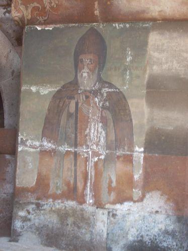 Zdjęcia: Eczmiadzyn tzw. ormianski Watykan, Malowidla scienne, ARMENIA