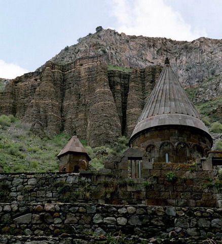 Zdjęcia: blisko Erewania, Klasztor Geghard, ARMENIA