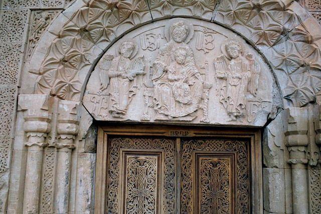 Zdjęcia: Noravank, Noravank, płaskorzeźba, ARMENIA