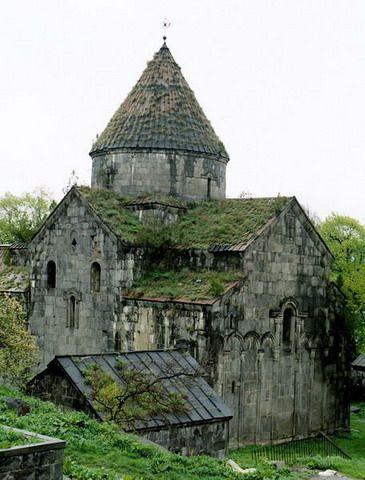 Zdj�cia: Sanahin, Kanion Debed, Klasztor Sanahin, ARMENIA