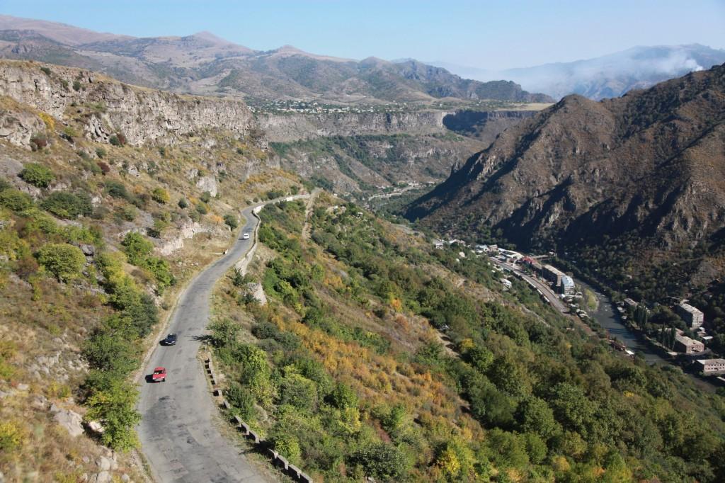 Zdjęcia: Debed, Alaverdi, Kanion rzeki Debed, ARMENIA