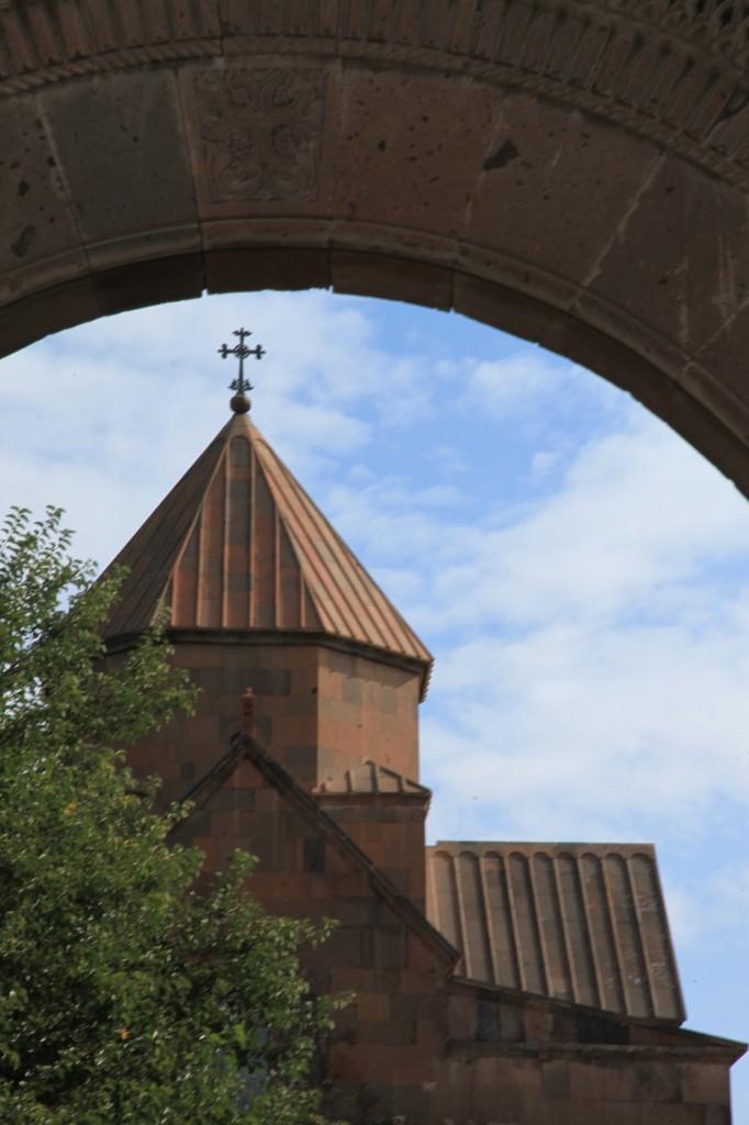 Zdjęcia: Eczmiadzyn, Armavir, Monastyr Św. Gayane, ARMENIA