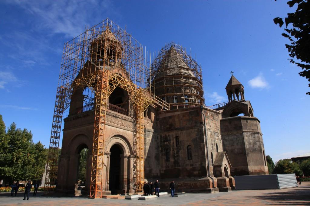 Zdjęcia: Eczmiadzyn, Armavir, Katedra w Eczmiadzyn, ARMENIA