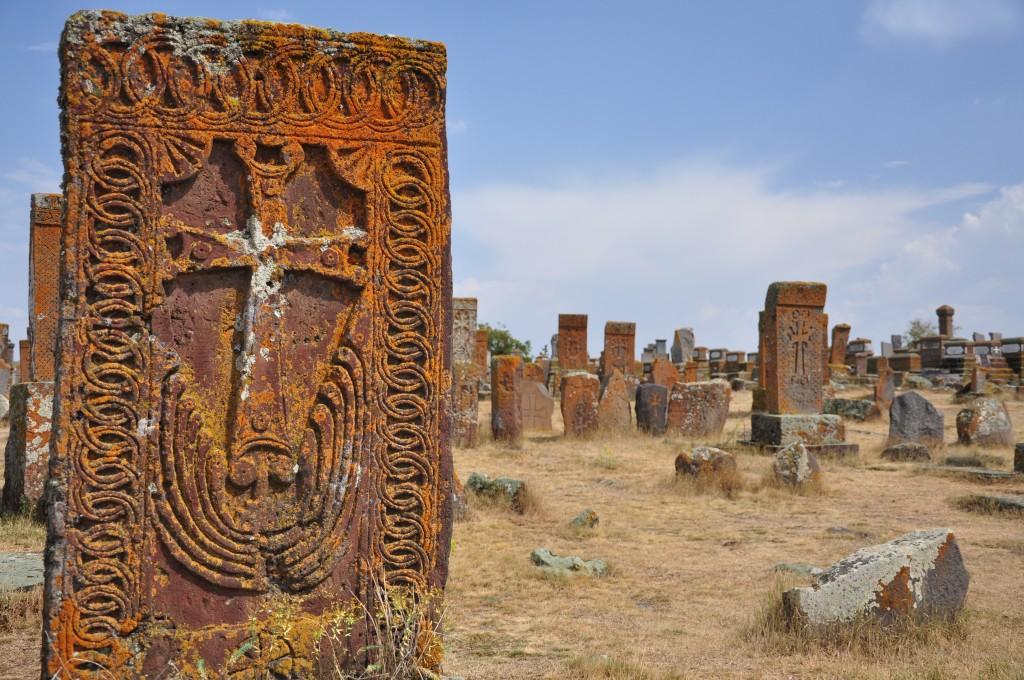 Zdjęcia: Noratus, Gegharkunik, Chaczkary w Noratus, ARMENIA