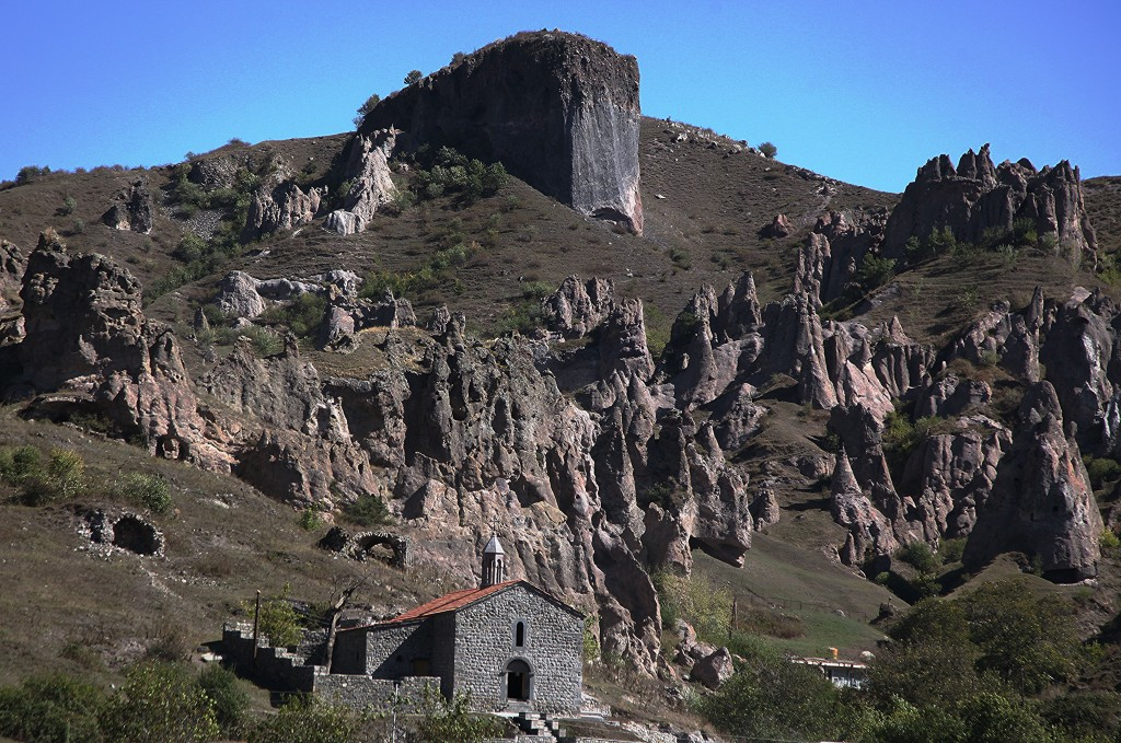 Zdjęcia: Stare Goris, Sjunik , Skalne miasto, ARMENIA
