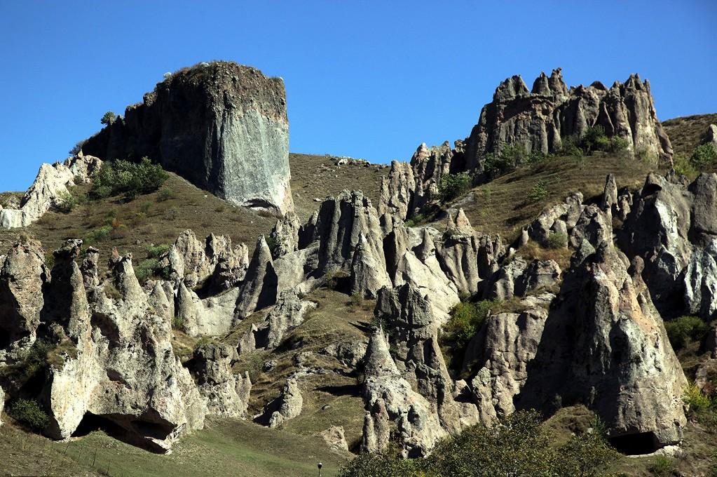 Zdjęcia: Stare Goris, Sjunik , Formacje skalne, ARMENIA