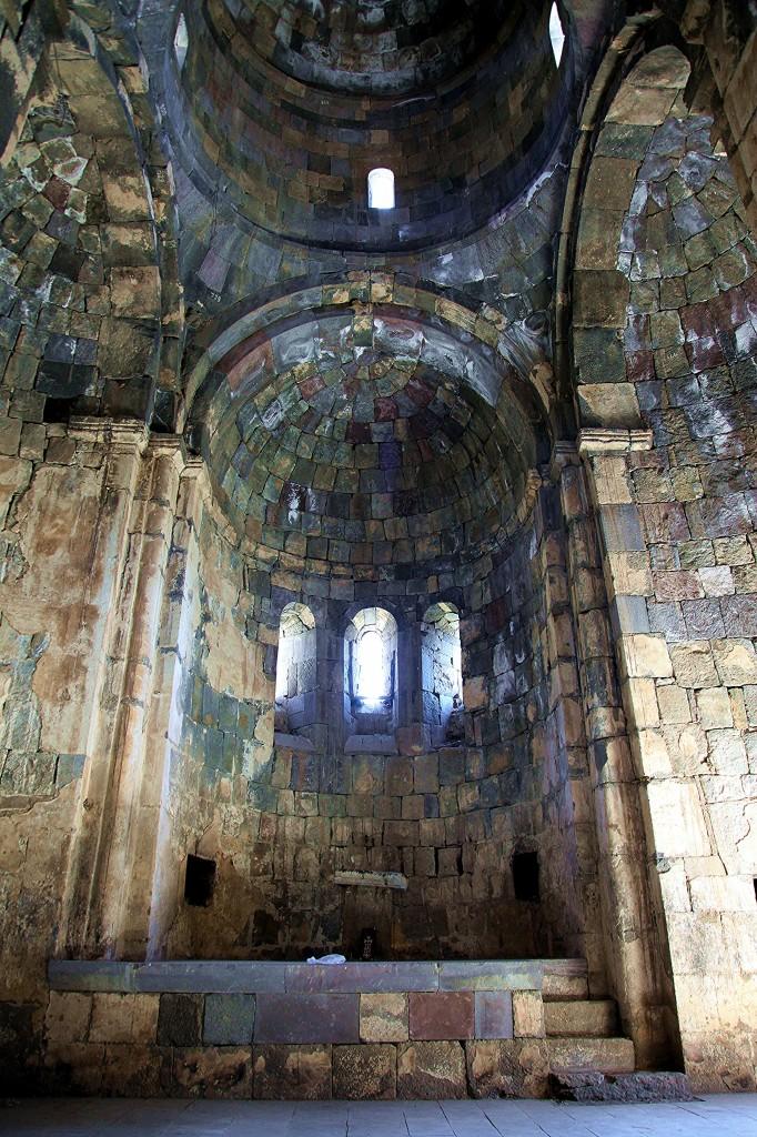 Zdjęcia: Vorotan, Sisian, Klasztor Worotnavank, wnętrze świątyni, ARMENIA
