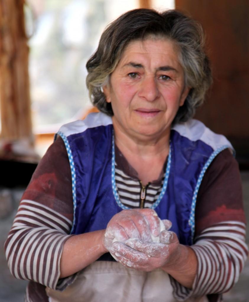 Zdjęcia: Geghard, Kotajk, W kuchni, ARMENIA