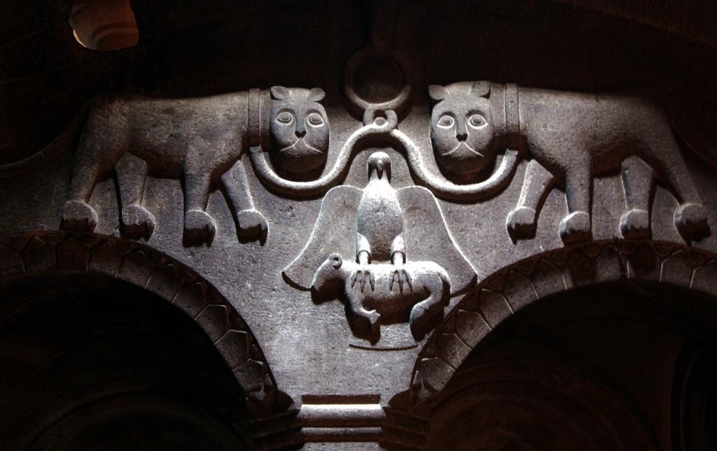 Zdjęcia: Geghard, Kotajk, Tajemnice sztuki zdobniczej, ARMENIA