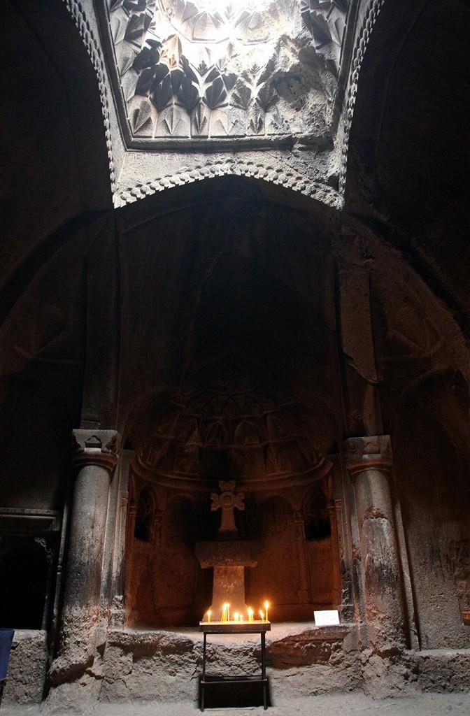 Zdjęcia: Geghard , Kotajk, Świątynia w skale, ARMENIA