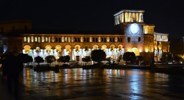 Zdjęcia: Erywań, Yerewan, Plac Republiki, ARMENIA