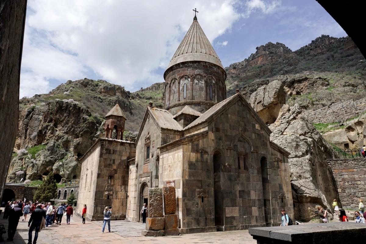 Zdjęcia: Geghard, Kotajk, Monaster Geghard, ARMENIA