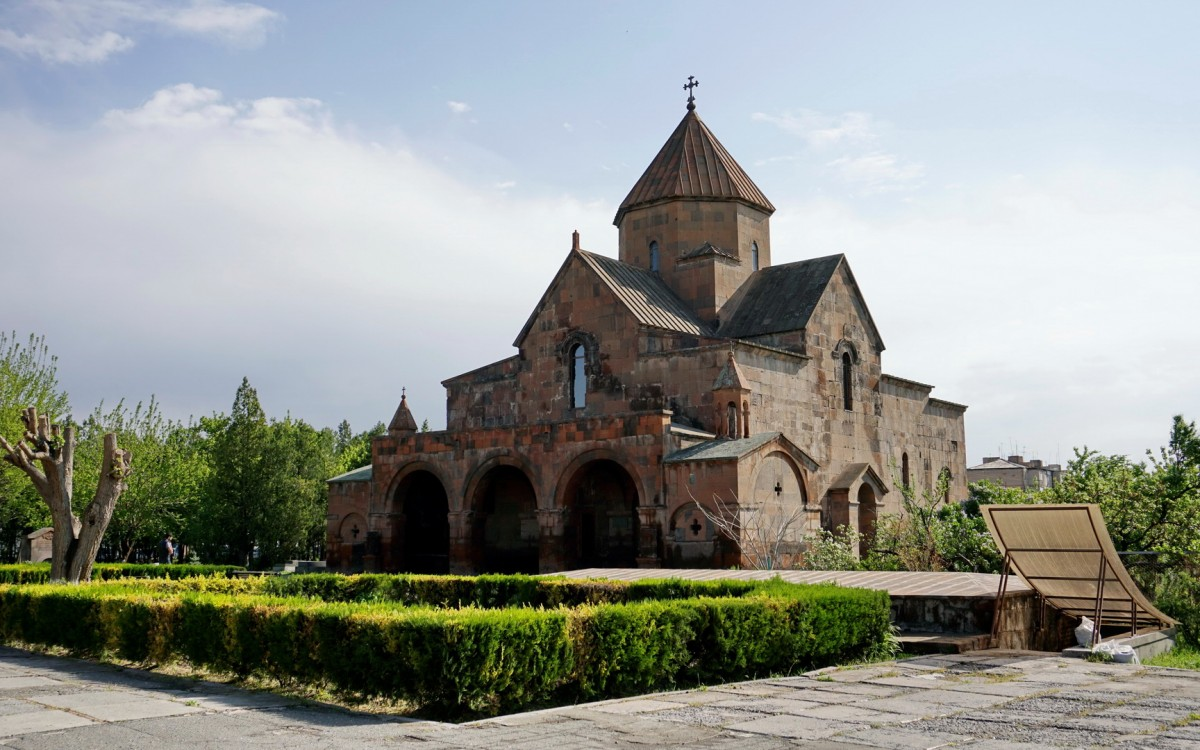 Zdjęcia: Eczmiadzyn, Armawir, Kościół św. Gajane, ARMENIA