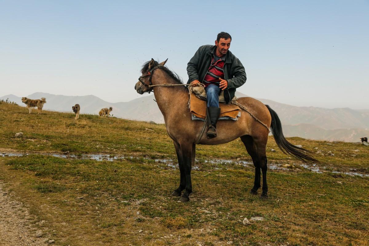Zdjęcia: mdzy Margahovit a Meghradzor, przełęcz, Gospodarz...., ARMENIA