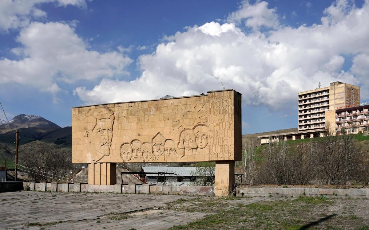 Zdjęcia: Wanadzor, Pomniki poprzedniej epoki, ARMENIA