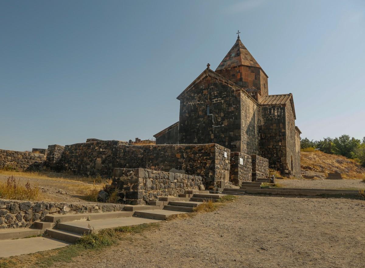 Zdjęcia: nad j. Sevan, centralna Armenia, Monastyr Sevan, ARMENIA