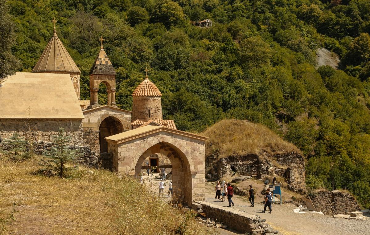Zdjęcia: Górski Karabach, Republika Arcach, Monastyr Dadivank, ARMENIA