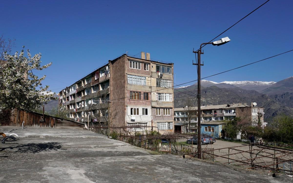 Zdjęcia: Alawerdi, Bloki w Alawerdi, ARMENIA