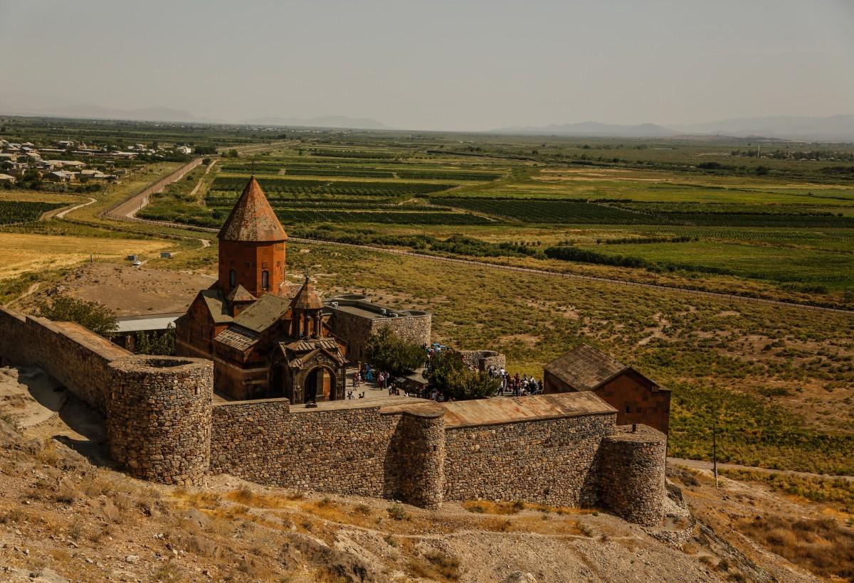 Zdjęcia: Khor Virap, zachodnia Armenia, Powrót do cywilizacji - Khor Virap, ARMENIA